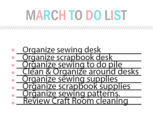 March To Do List Blank-001
