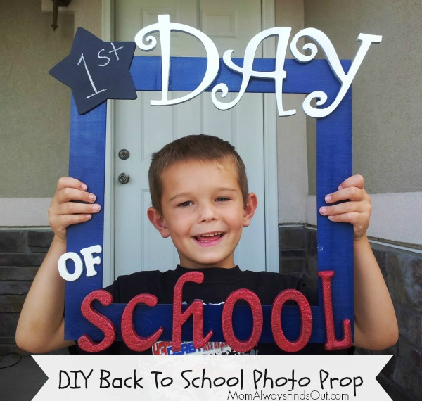 10 First Day Of School Photo Op Ideas Crafty Meggy