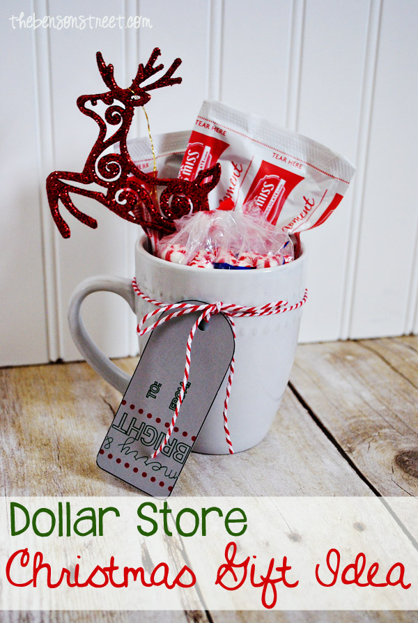 Cute dollar store christmas gift ideas