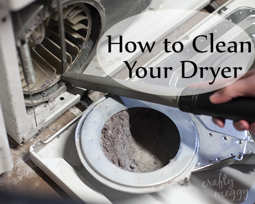 How To Clean Out Your Dryer Howtocleandryerpinnable